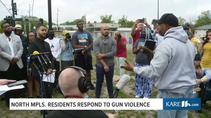 """Community Leader: """"Bring Us the Same Resources They Brought to Protect the Buildings!"""""""